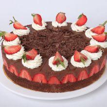 Erdbeer-Schoko-Mousse