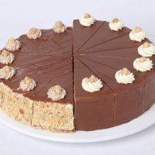 Viktoria-Mandel und Nuss-Torte